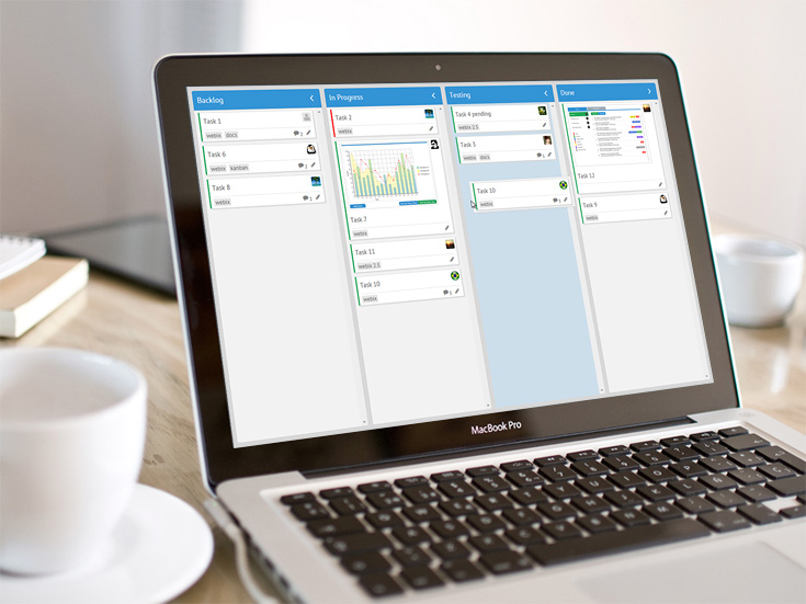 Webix Kanban Board – Perfect Widget to Improve Your Workflow