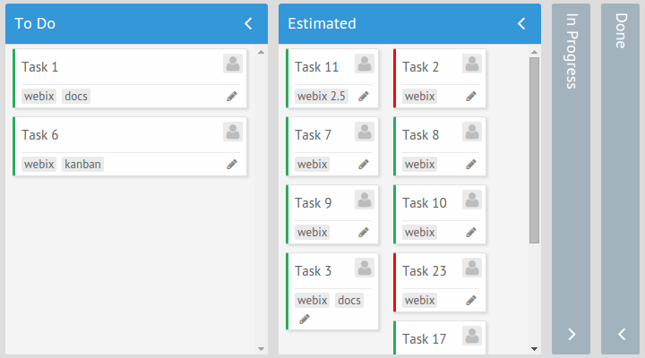 Count Property in Kanban board
