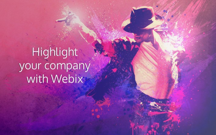 Highlight your company with Webix