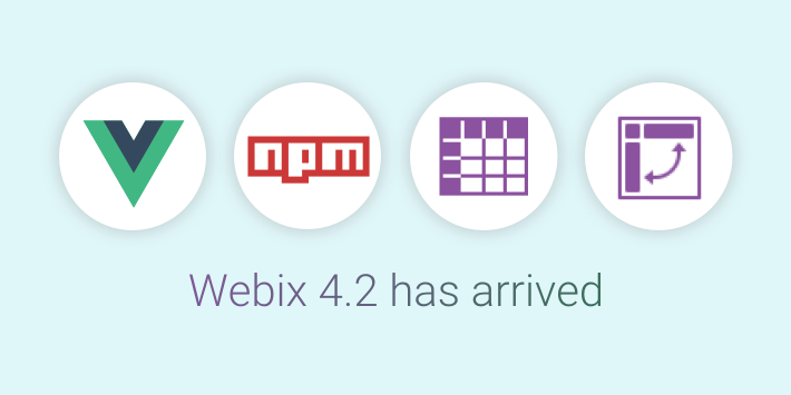 Webix and Vue.js integration