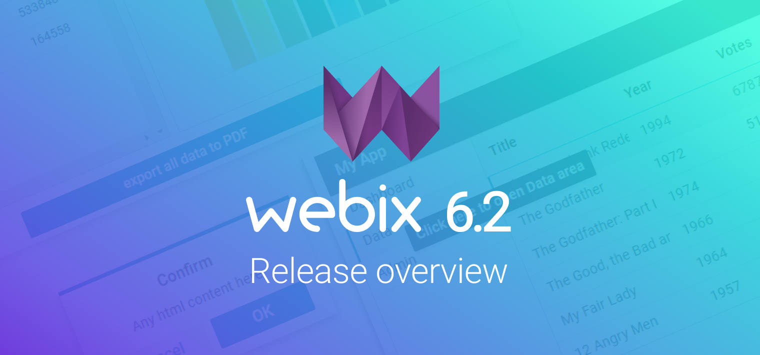 Webix 6.2 Release: Improved loading logic, tooltips everywhere and the new drag-n-drop mode