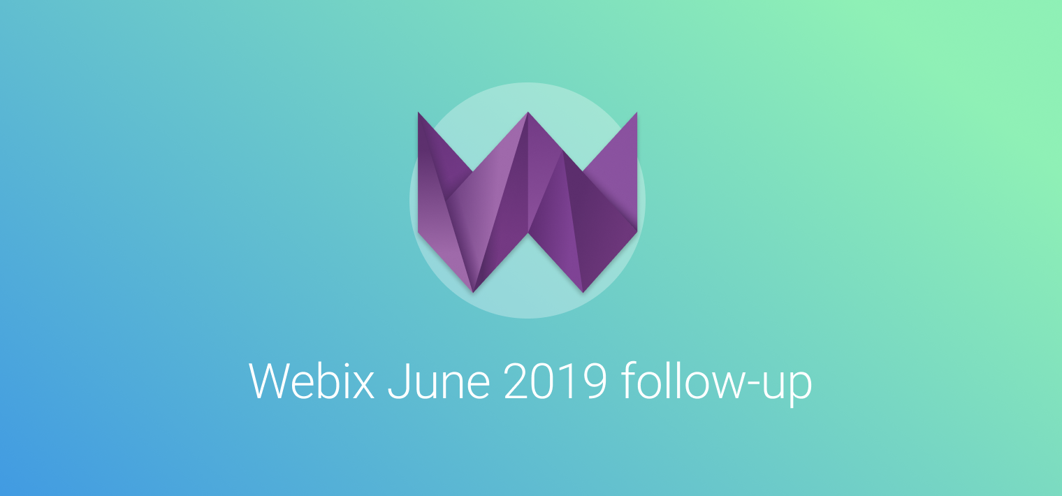 webix follow-up