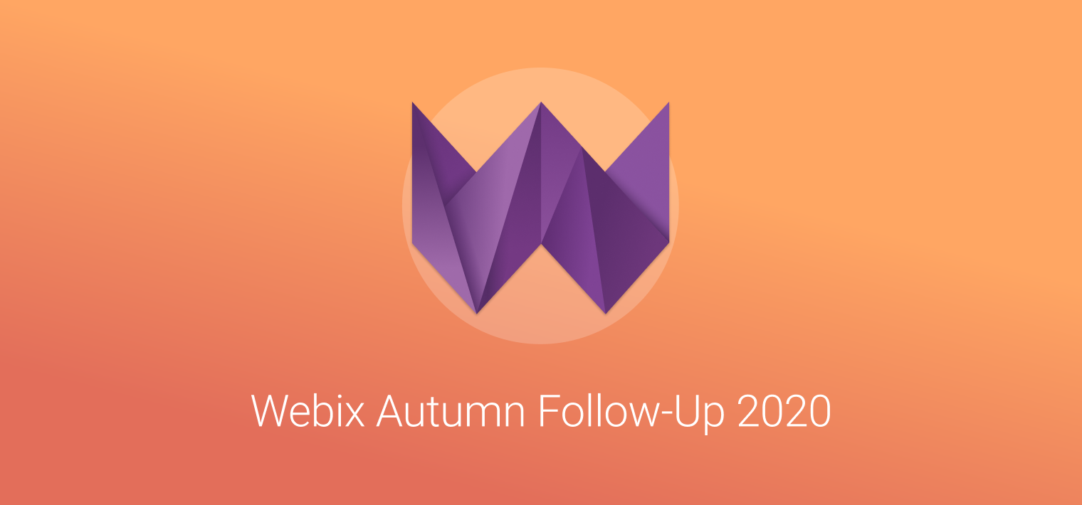 Webix Autumn Follow-Up 2020